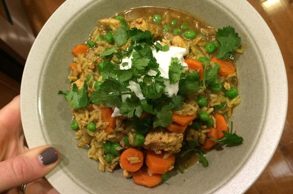 One Pot Chicken Biryani