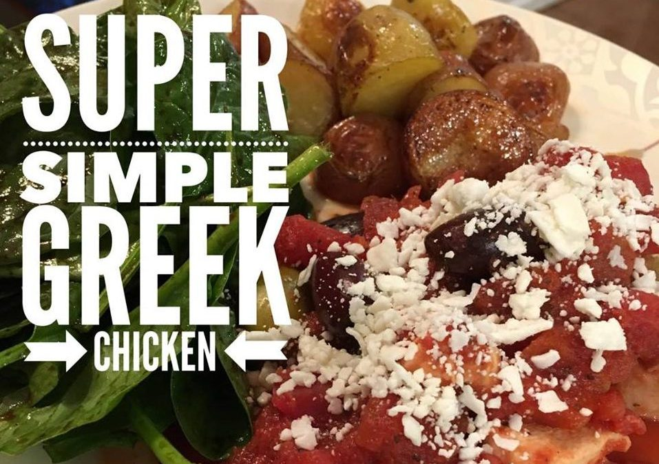 Super Simple Greek Chicken