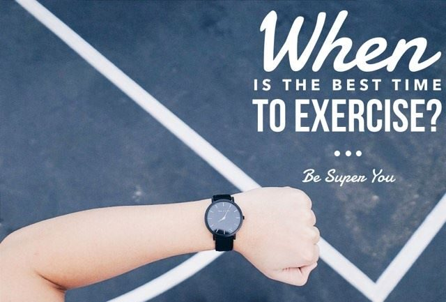 Fitness FAQ: When is the BEST time to workout?