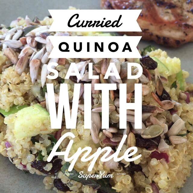 Curried Quinoa Salad with Apples
