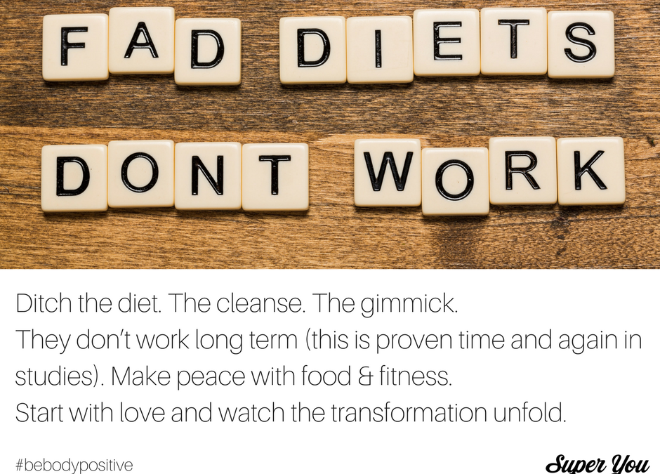 Be Body Positive #5: Ditch the Diet