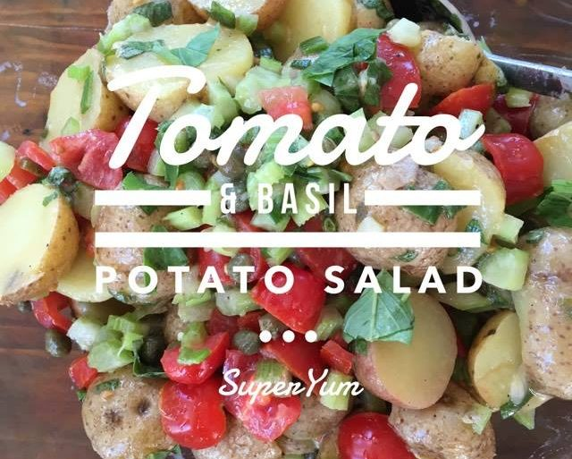 Tomato Basil Potato Salad
