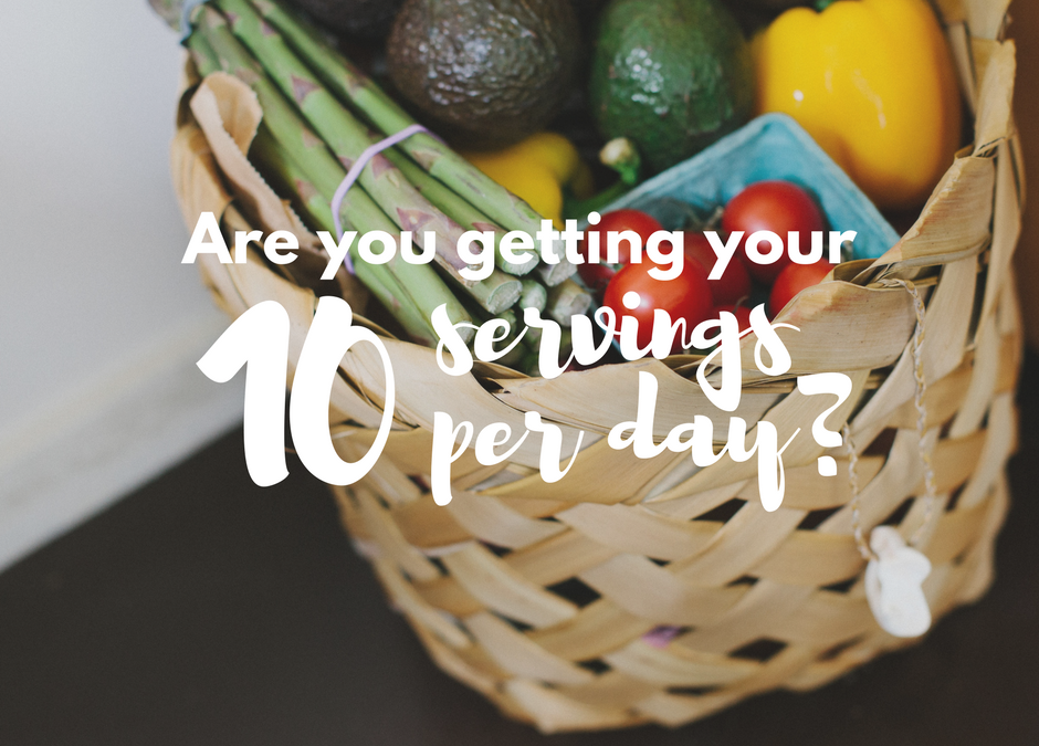 Are you getting your 10 a day?