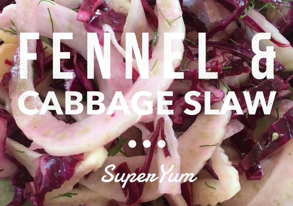 Fennel & Cabbage Slaw