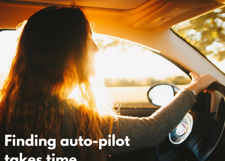 Finding Auto-pilot takes time.
