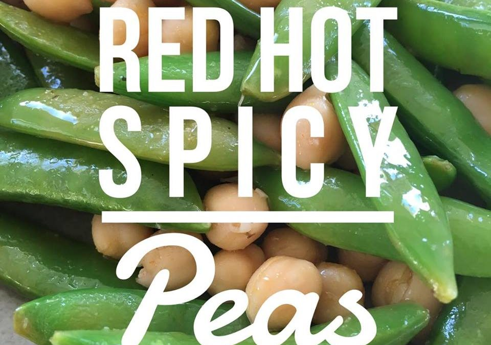 Red Hot Spicy Peas