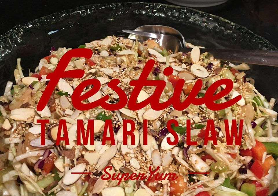 Festive Holiday Slaw