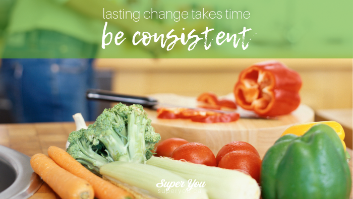 Lasting Change Takes Time: Be Consistent