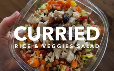 Curried Rice & Veggies Salad