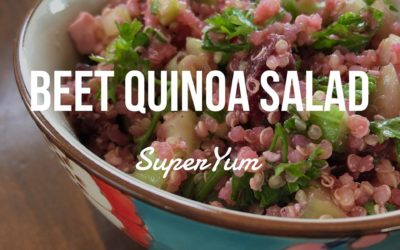 Beet Quinoa Salad (I think this is it!)