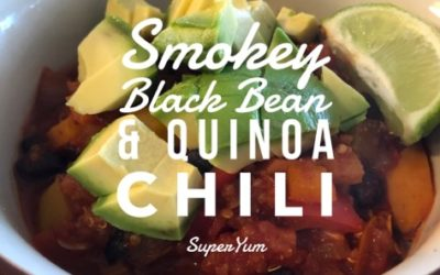 Smokey Black Bean & Quinoa Chili