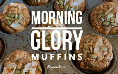 Morning Glory Muffins (GF + Vegan)